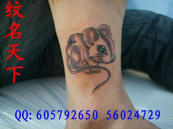 老鼠-若蓝刺青——上海闸北纹身社|上海宝山刺青 纹名
