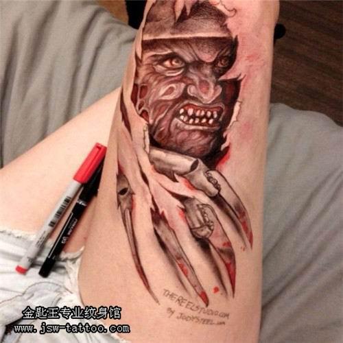 石狮纹身|石狮纹身哪家好-金匙王专业艺术纹身与培训图片